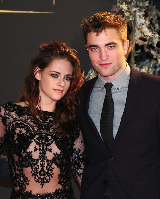 File photo dated 14/11/12 of Kristen Stewart and Robert Pattinson arriving for the premiere of The Twilight Saga: Breaking Dawn Part 2 at the Empire and Odeon Leicester Square, London