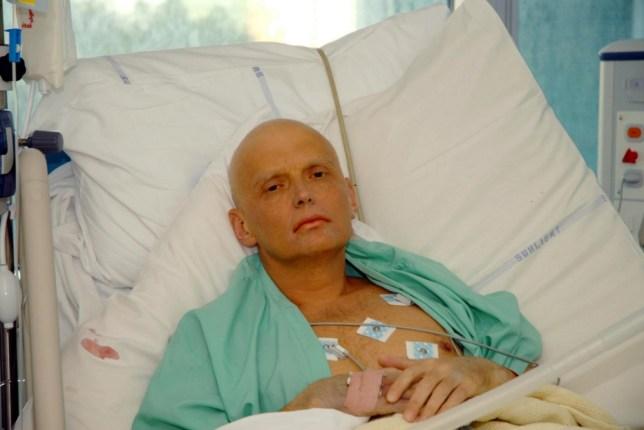 Killed: ex-KGB spy Alexander Litvinenko (Picture: PA)