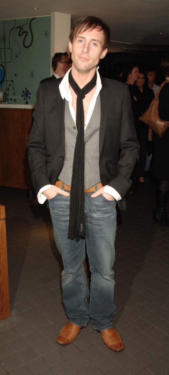 Ian 'H' Watkins at Music And Lyrics premiere
