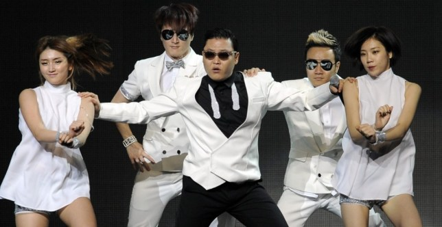 Psy currently has the most viewed video ever on YouTube (Picture: AP)