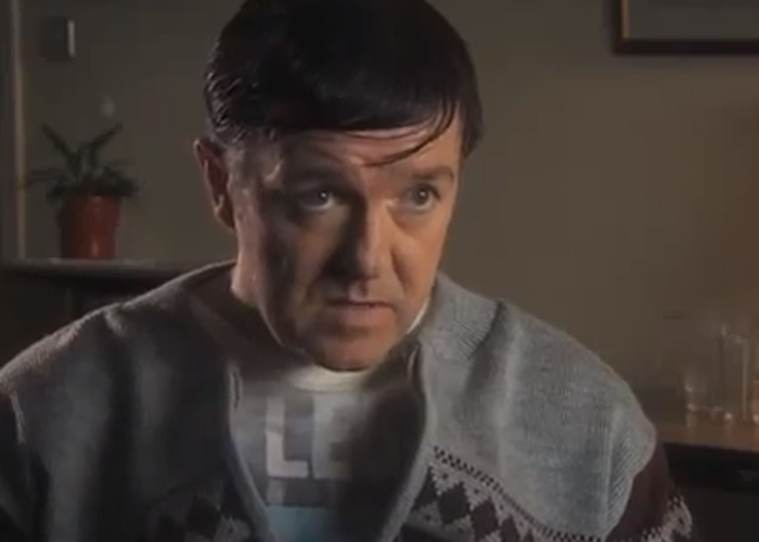 Ricky Gervais plays the titular character in Derek (Picture: Channel 4)