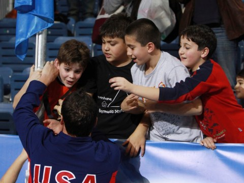 Olympic hero Ryan Lochte has a heart of gold after giving medal to kid