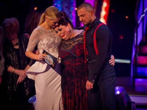Lisa Riley crashes out of Strictly Come Dancing semi-final