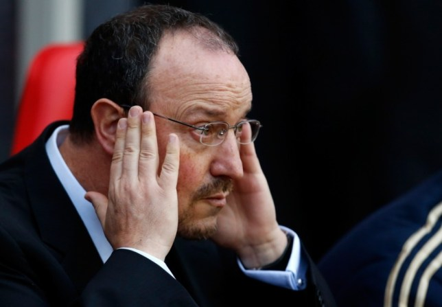 Chelsea's interim boss Rafael Benitez is focused on success in Japan (Picture: Getty)