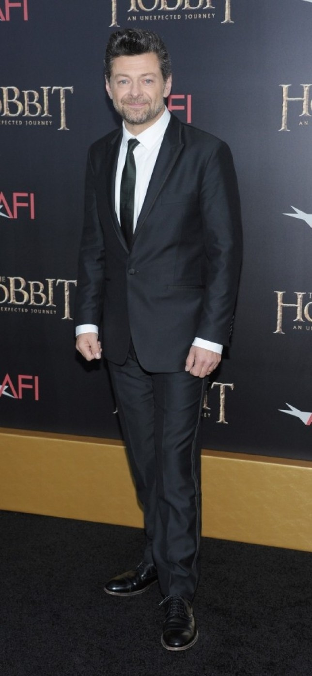 Andy Serkis attends premiere