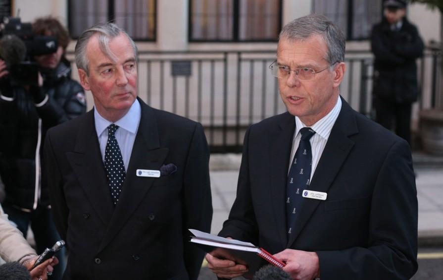 John Lofthouse and  Lord Glenarthur