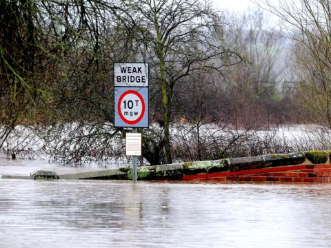 Landslide warning for Boxing Day walkers as floods continue across rain-battered Britain
