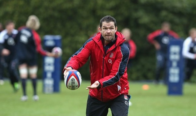 Andy Farrell has denied that his England players are 'arrogant' (Picture: Getty)