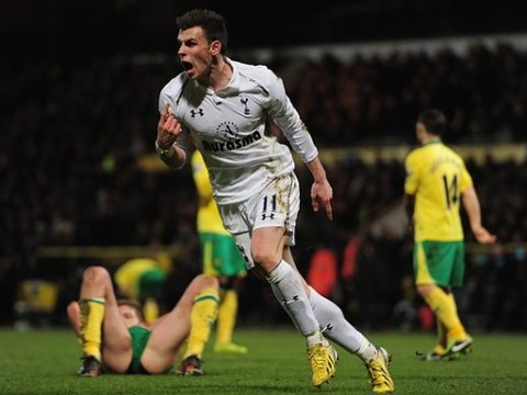 Gareth Bale setting sights on emulating Cristiano Ronaldo