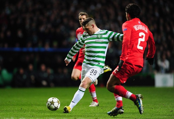 Celtic v Juventus key battle:Gary Hooper v Gianluigi Buffon