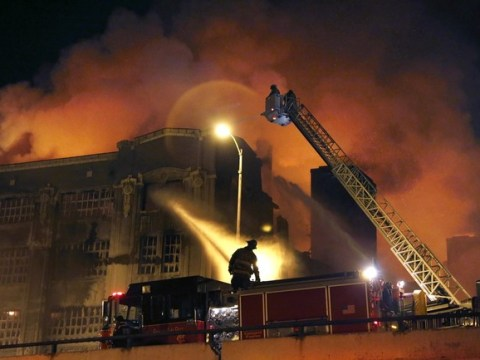Gallery: Chicago winter warehouse fire 2013