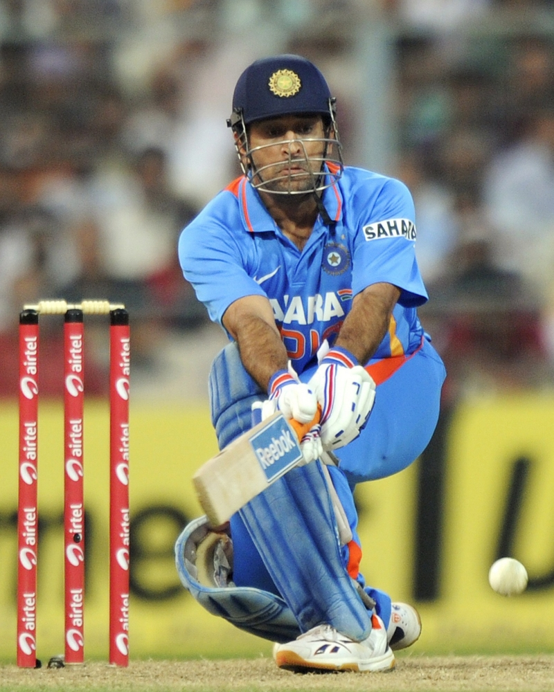 Indian captain Mahendra Singh Dhoni played a fine cameo