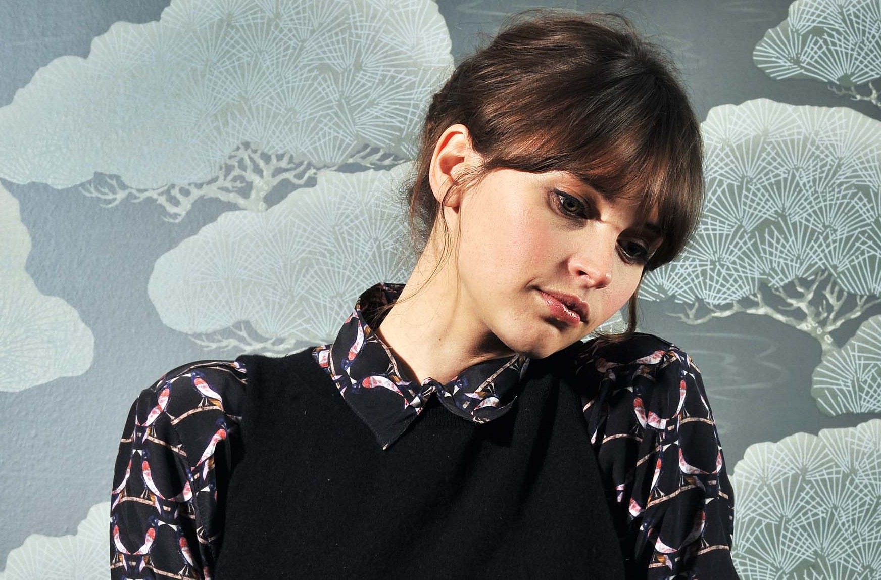 Felicity Jones has been tipped to play Anastasia Steele in Fifty Shades Of Grey (Picture: Daniel Lynch)
