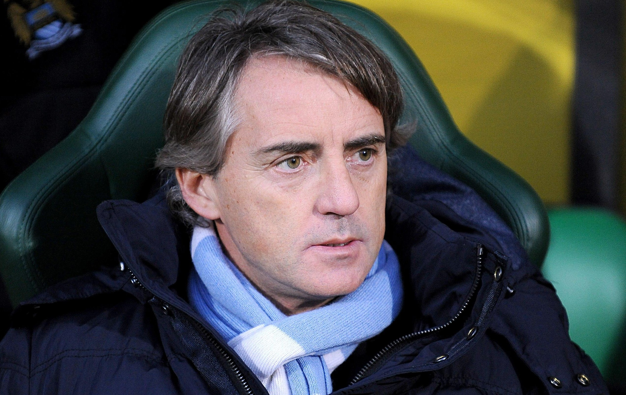 Roberto Mancini eyes Radamel Falcao and Daniele De Rossi after admitting Manchester City will spend in January