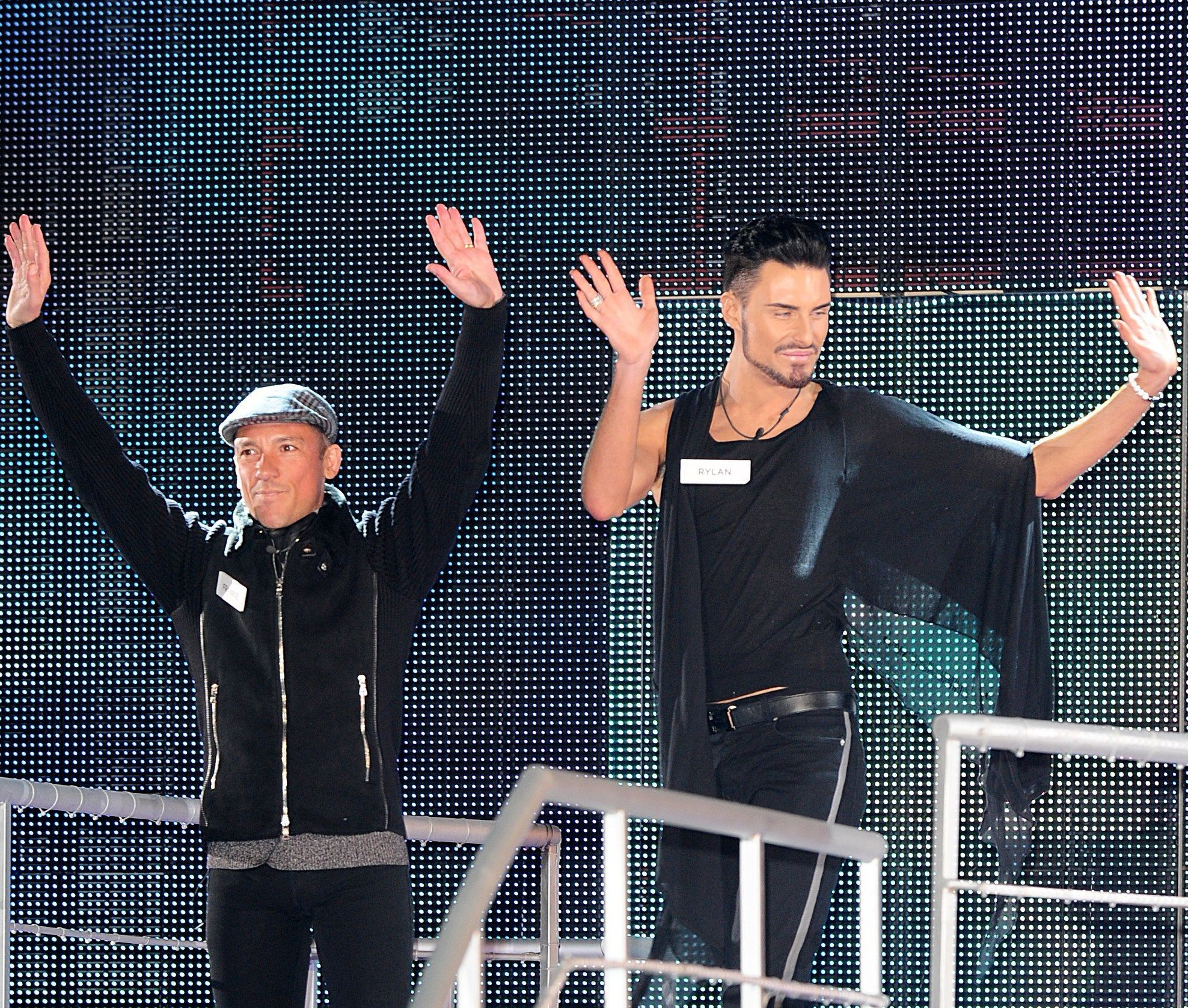 Rylan Clark and Frankie Dettori, Celebrity Big Brother