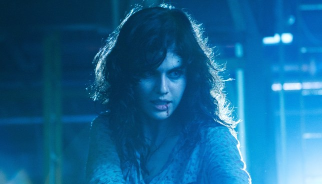 Texas Chainsaw 3D knocked The Hobbit off the number one spot (Picture: Lionsgate)