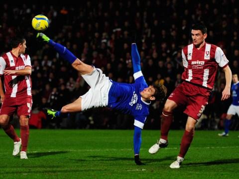 Gallery: Cheltenham Town v Everton – FA Cup – 7 January 2013