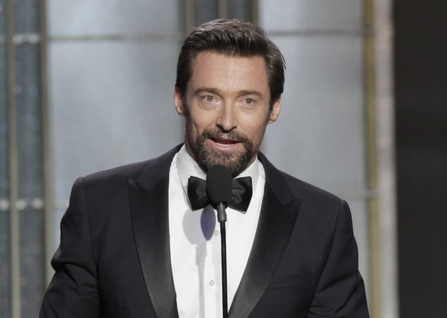 Les Miserables star Hugh Jackman won a Golden Globe for his performance (Picture: Getty)