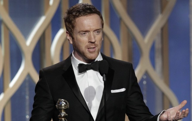 Damian Lewis won a Golden Globe for his role in Homeland (Picture: EPA)