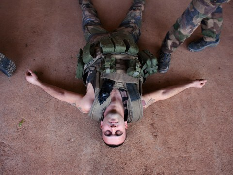Gallery: France continues military action in Mali – 14 January 2013