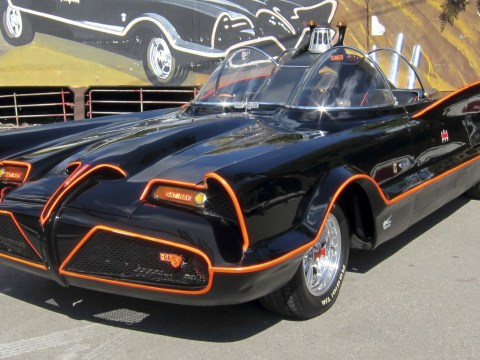 Batmobile featured in 1960s Batman TV show auctioned off for £2.6m