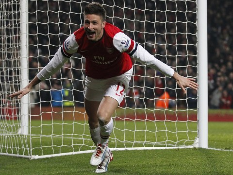 Olivier Giroud scores two as Arsenal hit four goals in 10 minutes to blitz West Ham