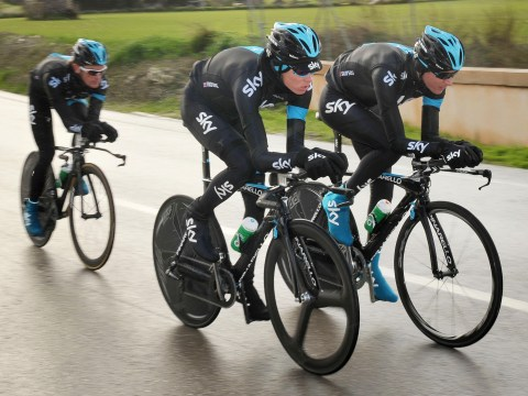 Gallery: Team Sky Media Day 2013