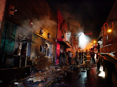 Gallery: Scores dead following nightclub fire in Santa Maria, Brazil – 27 January 2013