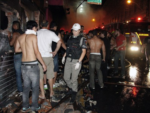 'Security guards prevented people leaving' Brazil nightclub fire that killed hundreds