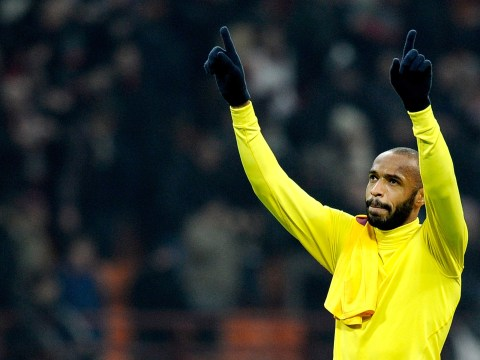Arsene Wenger rules out January loan bid for Thierry Henry