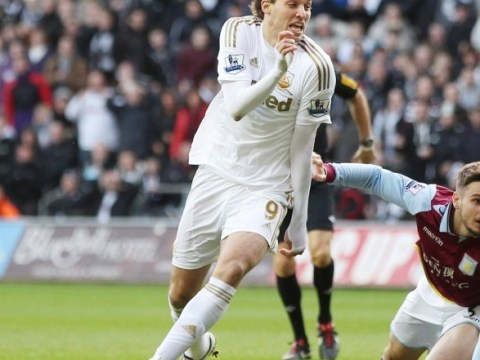 Swansea boss Michael Laudrup says Michu will not leave in January