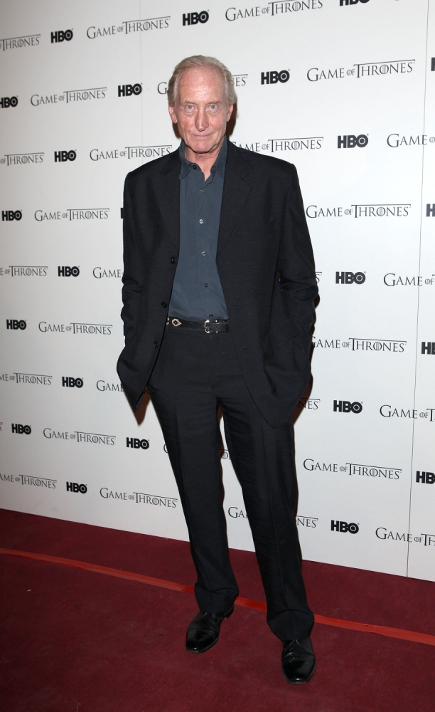 Charles Dance: There's nothing aristocratic about me despite what people think