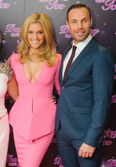 Dancing On Ice bosses force judges Jason Gardiner and Ashley Roberts to fly back to UK to avoid snow trouble
