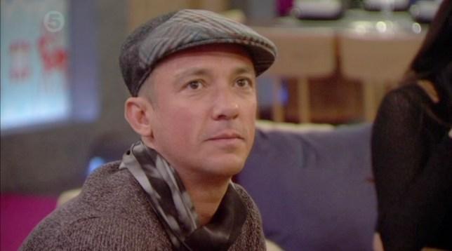 Frankie Dettori Celebrity Big Brother