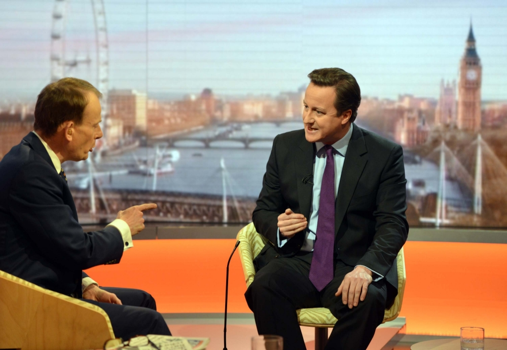 David Cameron: We would not shirk from second Falklands War