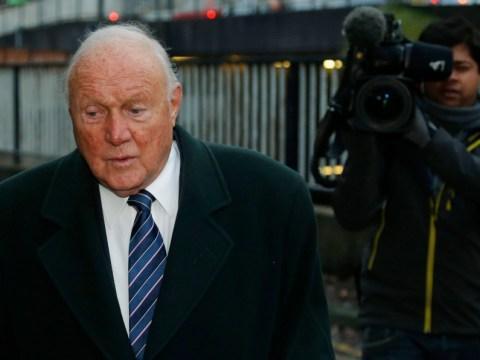 BBC broadcaster Stuart Hall denies sex abuse charges involving three girls