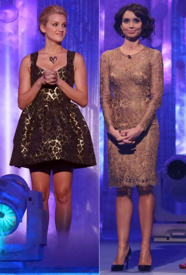 Christine Bleakley falls victim to Dancing On Ice abuse yet again as Ashley Roberts goes down a storm