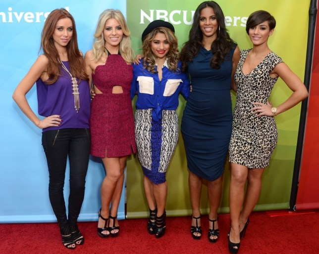 Una Healy, Mollie King, Vanessa White, Rochelle Humes and Frankie Sandford of The Saturdays