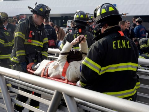 New York City commuter ferry crash seriously injures two people and leaves 50 hurt