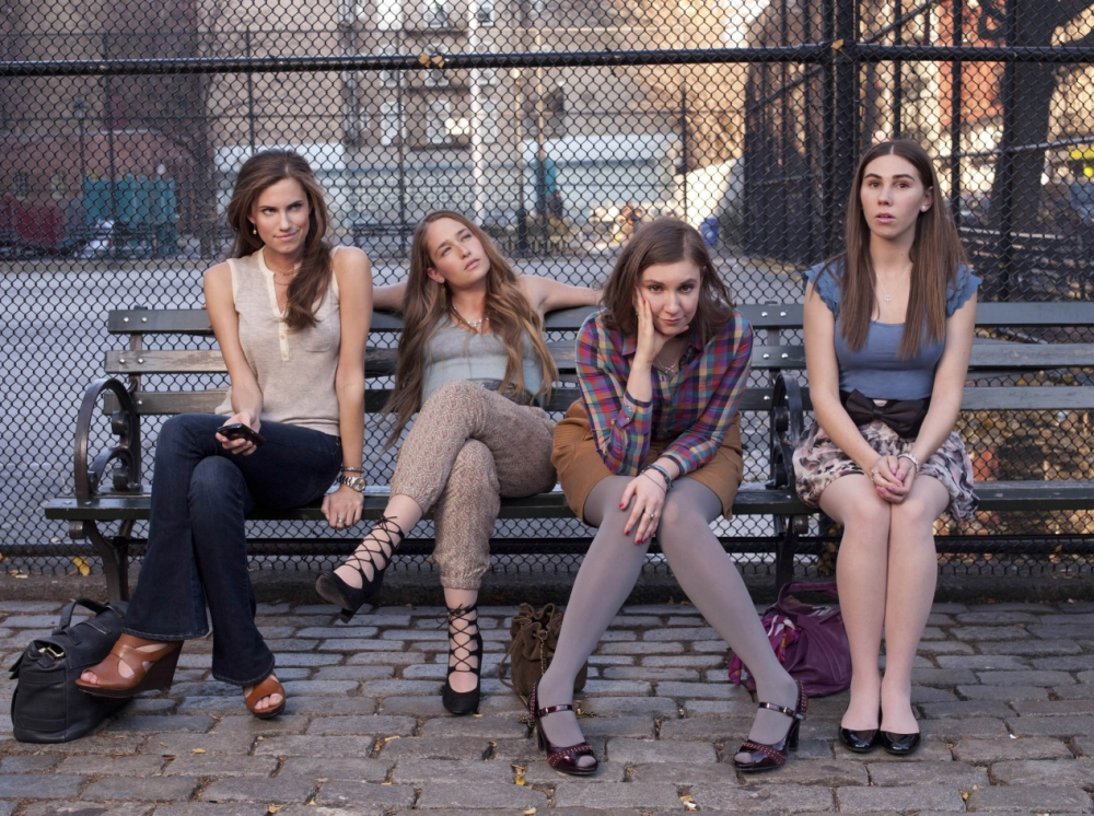 Girls' second series hit screens in the US last night (Picture: HBO)