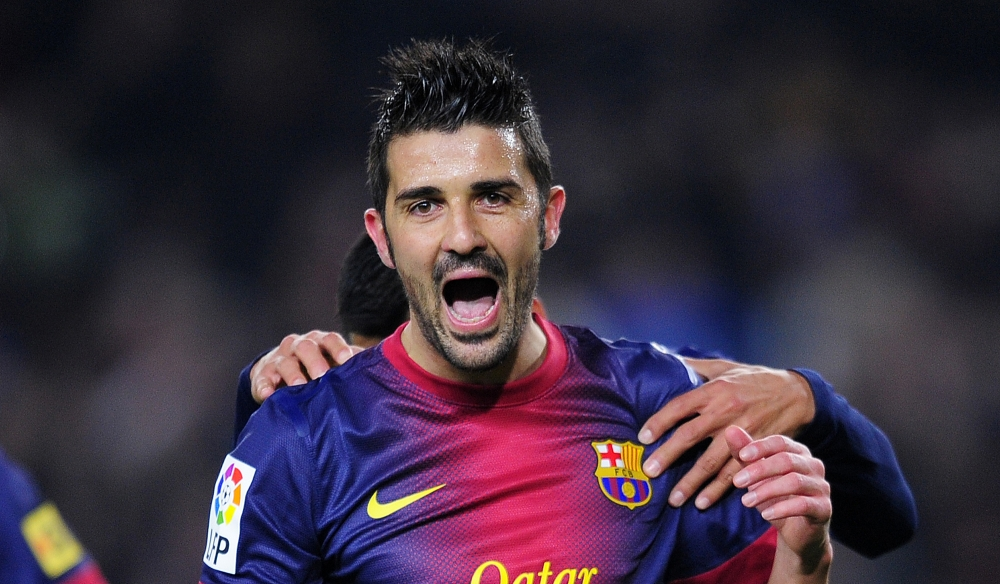 Tottenham close to sealing deal for Barcelona striker David Villa
