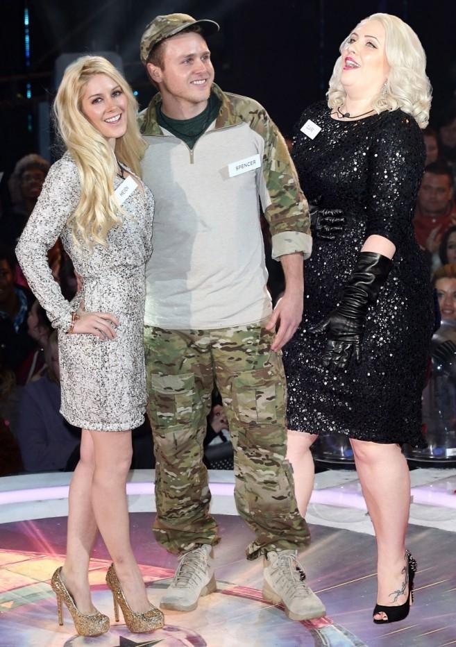 Speidi v Claire Richards: Celebrity Big Brother Face Off