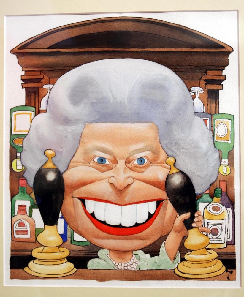 Gallery Controversial Portraits Of Queen Elizabeth Ii Metro Uk