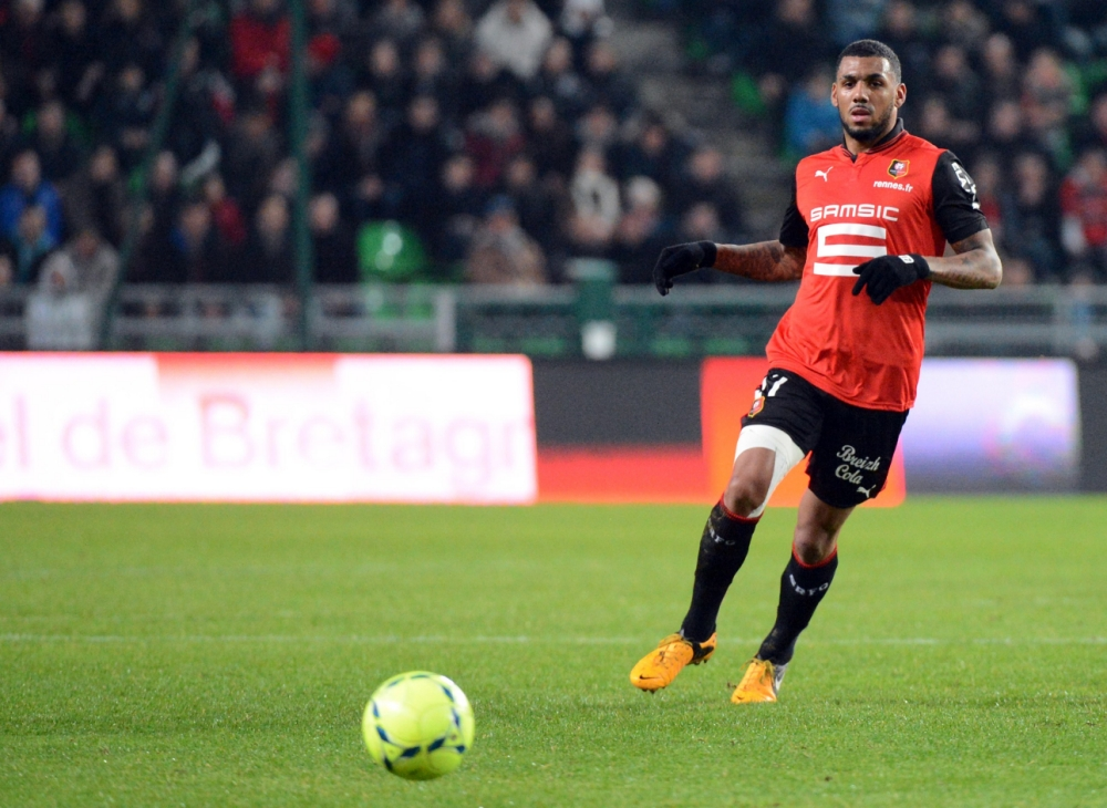 Rennes' French midfielder Yann M'vila