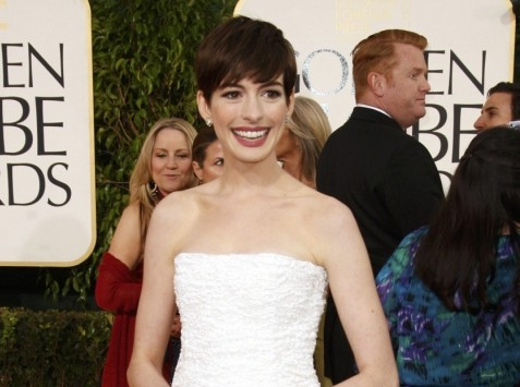 Anne Hathaway wins best supporting actress at London Critics' Circle film awards