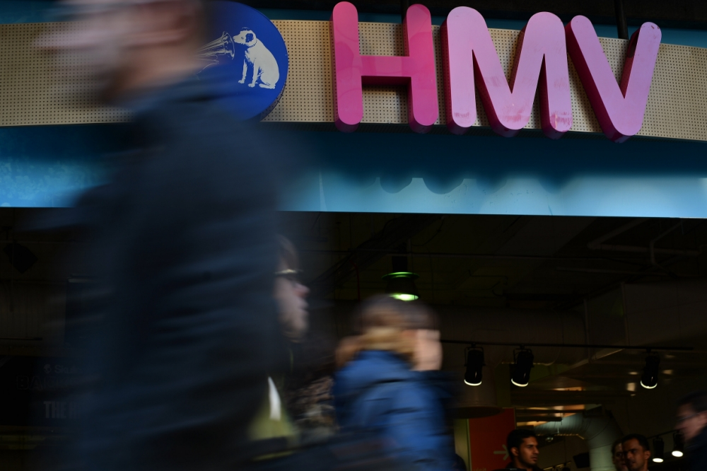 HMV staff stage sit-in at Limerick stores to demand wages