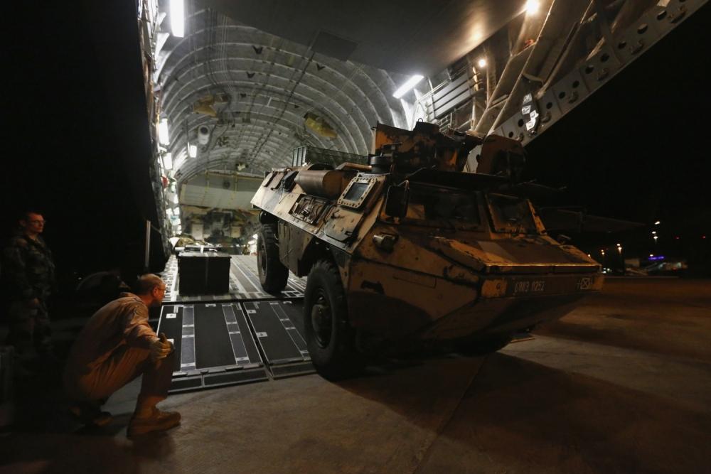 RAF in Mali