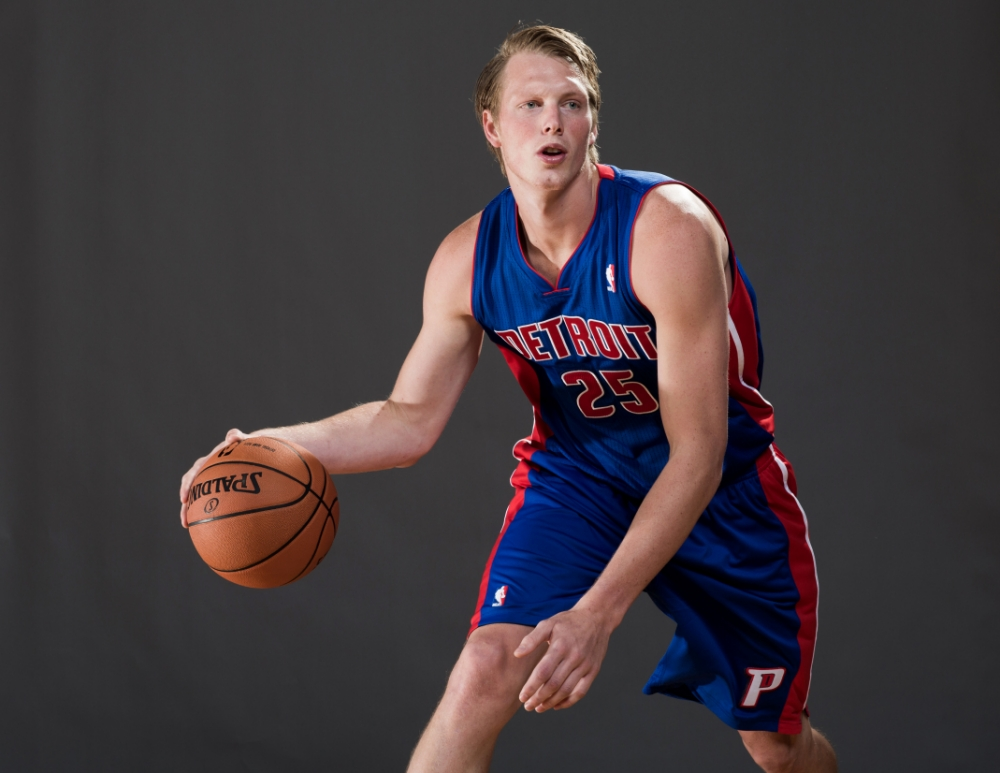 Kyle Singler is enjoying a successful season with the Detroit Pistons (Picture: Getty)