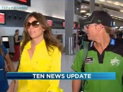 Elizabeth Hurley 'fires off F-bomb' rant at reporter