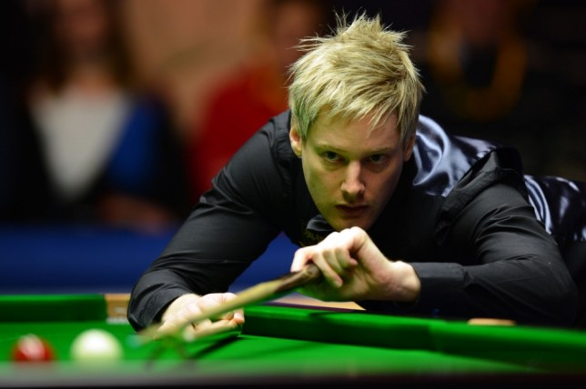 Neil Robertson claimed an emphatic 6-2 victory over Shaun Murphy (Picture: PA)